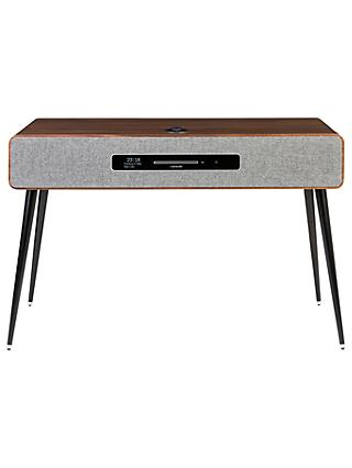 Ruark R7 Mk3 DAB/DAB+/FM/Internet Radio & CD Bluetooth Wi-Fi Wireless All-In-One Music System, Walnut with AV Mount