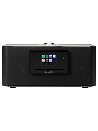 Buy ROBERTS S300 Multi-room Wi-Fi Bluetooth NFC Music System with DAB/DAB+/FM/Internet Radio & CD Player Online at johnlewis.com