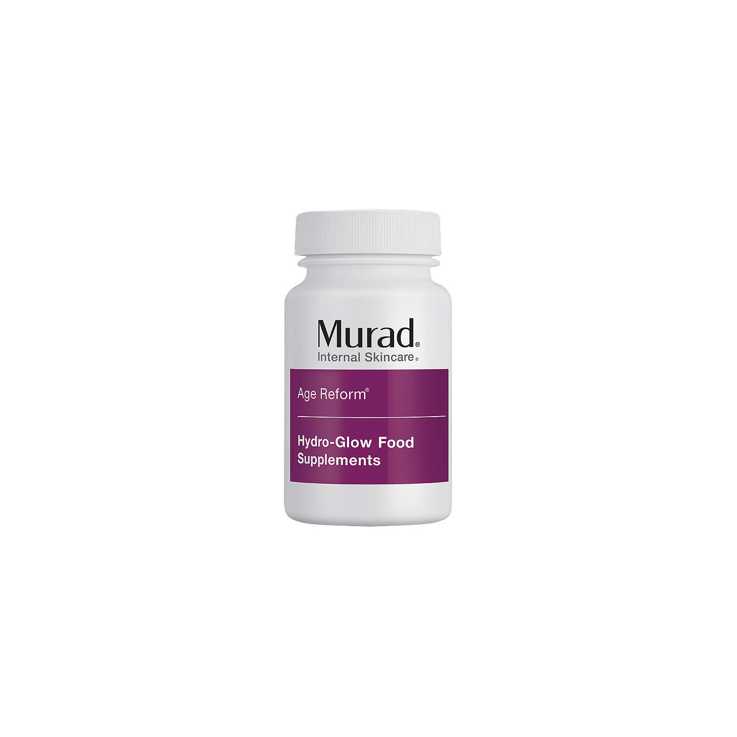 BuyMurad Age Reform Hydra Glow Food Supplements, 60 tablets Online at johnlewis.com