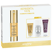 Buy Sisley Supremÿa Eyes Discovery Skincare Gift Set Online at johnlewis.com