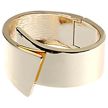 Buy Adele Marie Hinged Asymmetric Bangle Online at johnlewis.com