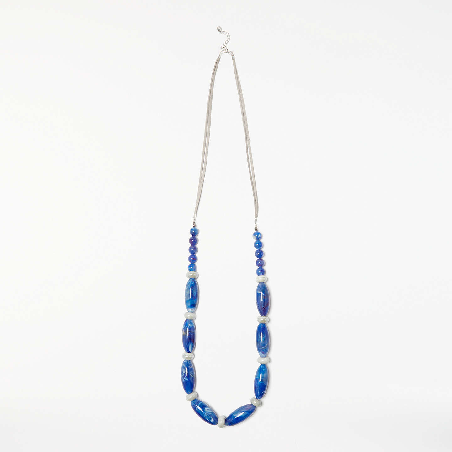 home blue a glass to bead handmade id how and make at bling clear necklace