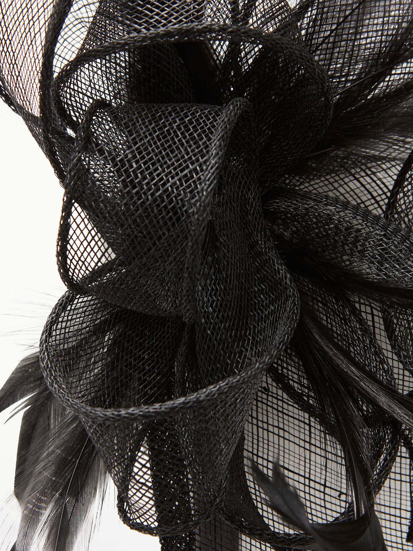 BuyJohn Lewis & Partners Teardrop Fascinator, Black Online at johnlewis.com