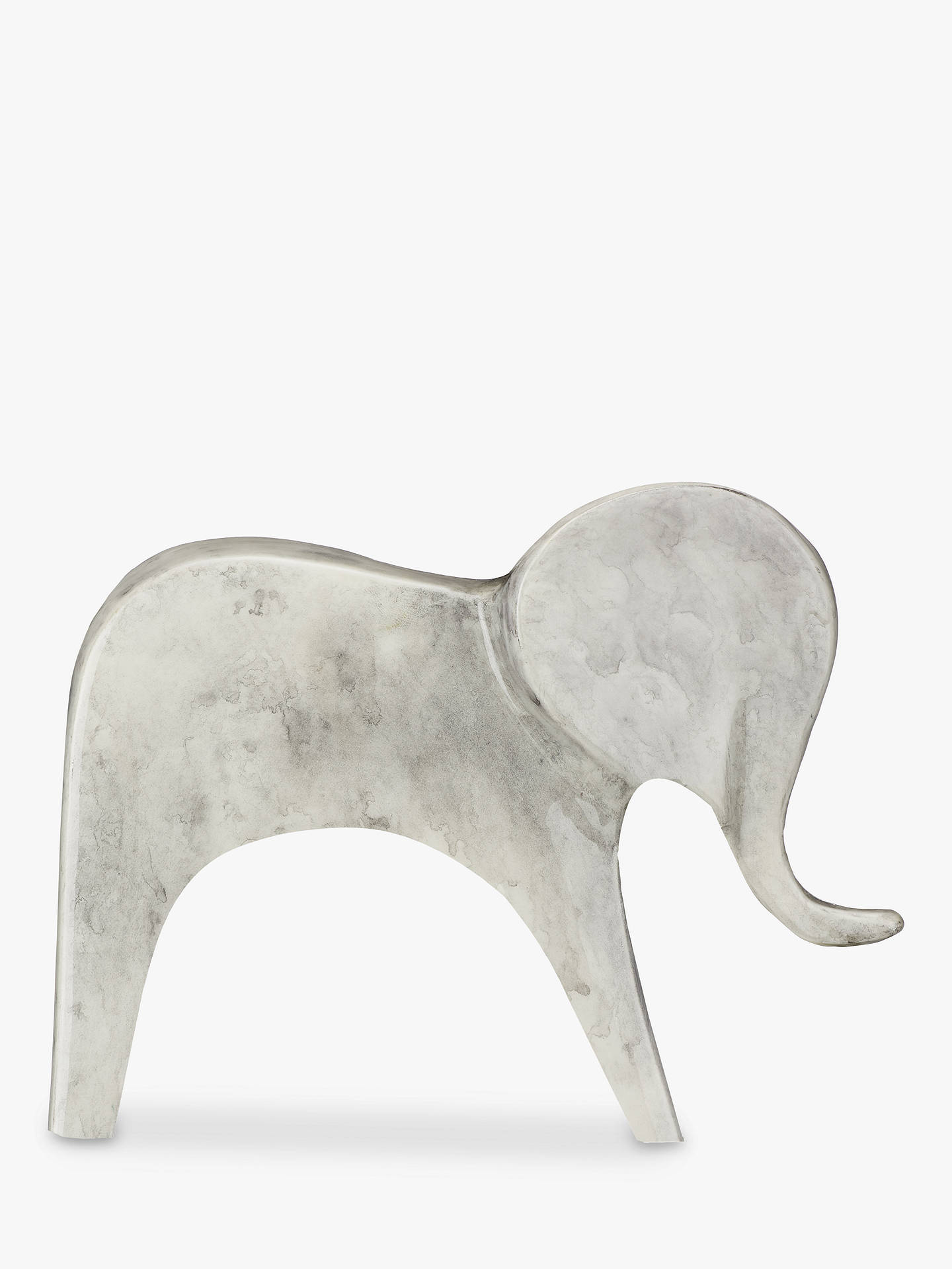 Buy John Lewis & Partners Elephant Ornament, Grey Online at johnlewis.com