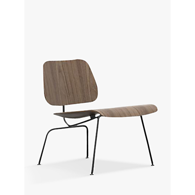 Vitra Plywood Group LCM Chair, Black/Walnut