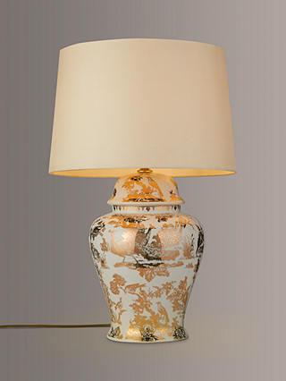 India Jane V A Pea Toile De Jouy, John Lewis Table Lamps India Jane