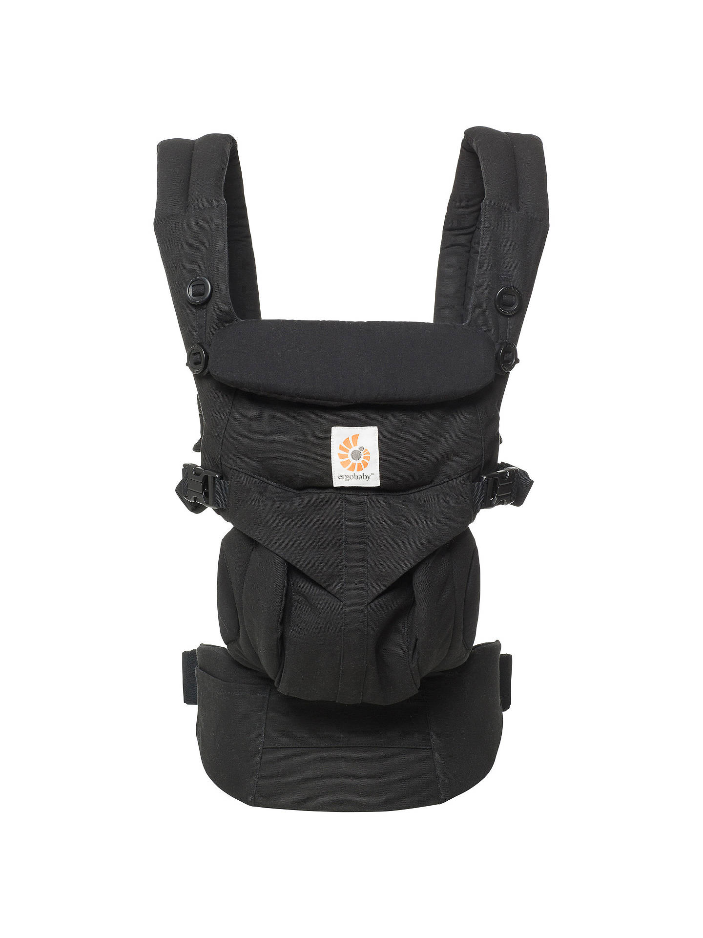 Buy Ergobaby Omni 360 Baby Carrier, Pure Black Online at johnlewis.com