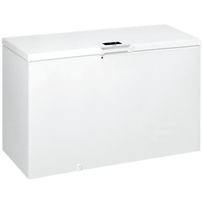 Hotpoint CS1A400HFMFAUK Freestanding Chest Freezer, White