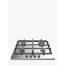 Buy Indesit THP 641 WIXI Gas Hob, Stainless Steel Online at johnlewis.com