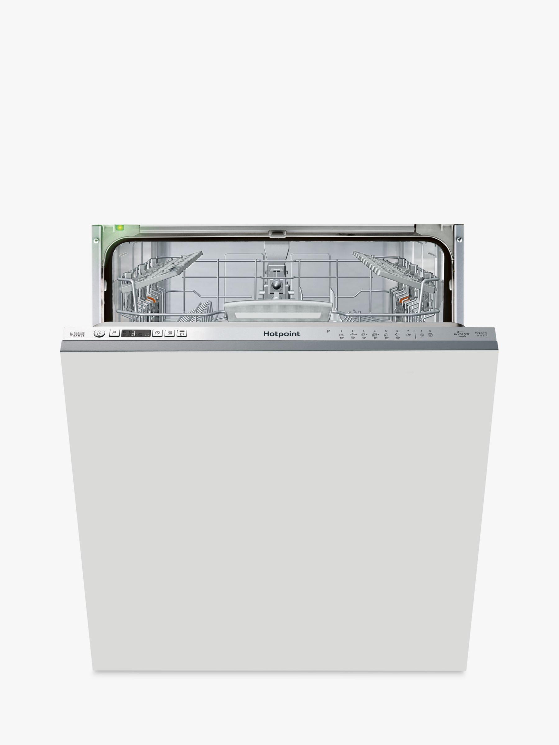 Hotpoint Hotpoint HIO 3T1239 E Integrated Dishwasher, White