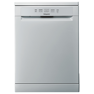 Hotpoint HFC 2B19 SV UK Freestanding Dishwasher, Silver