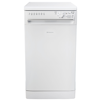 Hotpoint SIAL 11010 P Freestanding Dishwasher, White