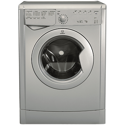 Indesit IDVL75BRS.9 Freestanding Vented Tumble Dryer, 7kg Load, B Energy Rating, Silver