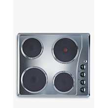 Buy Indesit TI 60 X Electric Hob, Stainless Steel Online at johnlewis.com