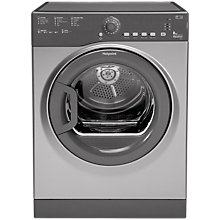 Buy Hotpoint TVFS83BGG.9 Vented Tumble Dryer, 8kg Load, C Energy Rating, Grey Graphite Online at johnlewis.com
