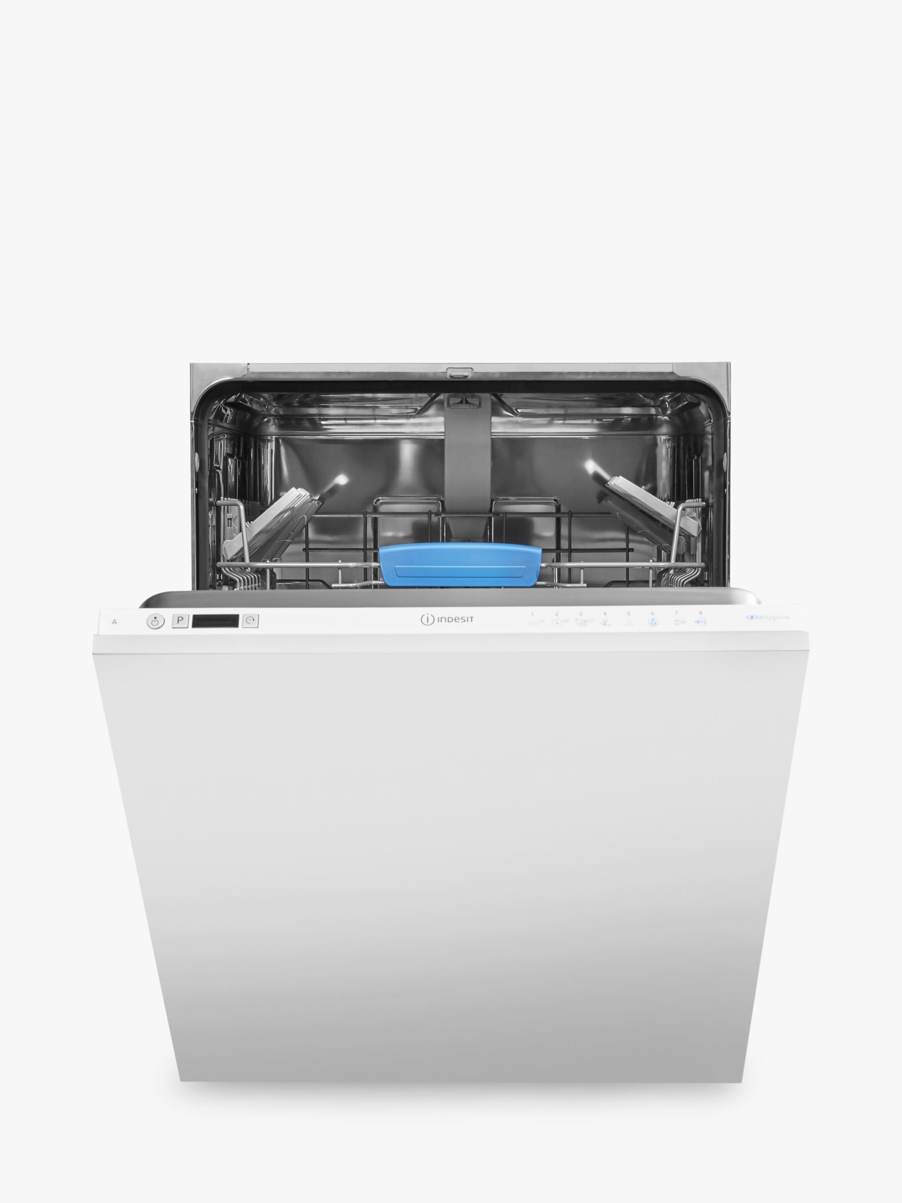 Indesit Indesit DIFP8T96 Integrated Dishwasher, White