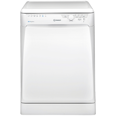 Indesit DFP27T96Z Freestanding Dishwasher, White