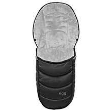 Buy egg Special Edition Stroller Footmuff, Jurassic Black Online at johnlewis.com