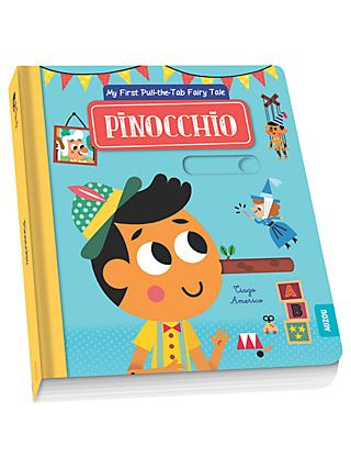 My First Pull-The-Tab Fairy Tale Pinocchio Children's Book