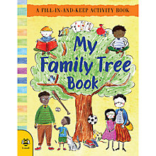 Buy My Family Tree Activity Book Online at johnlewis.com