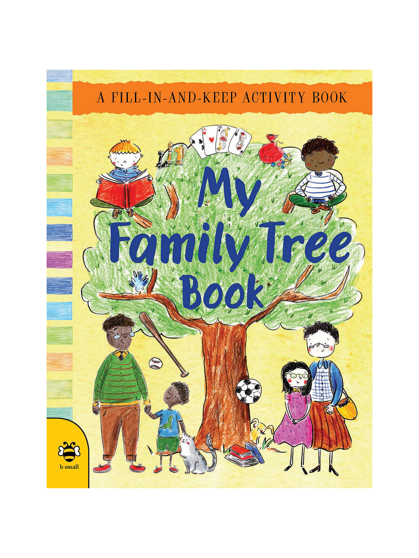 954686c7 Buy My Family Tree Activity Children's Book Online at johnlewis. ...