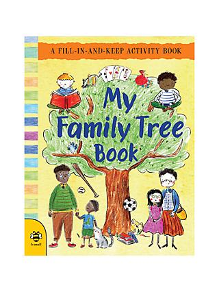My Family Tree Activity Children's Book
