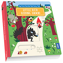 Buy Little Red Riding Hood Pull The Tab Fairytale Book Online at johnlewis.com