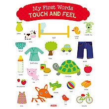 Buy My First Words Touch And Feel Book Online at johnlewis.com