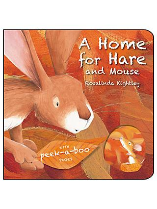 A Home for Hare and Mouse Children's Board Book