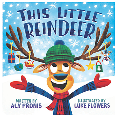 Image of This Little Reindeer Children's Book