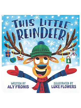 This Little Reindeer Children's Book