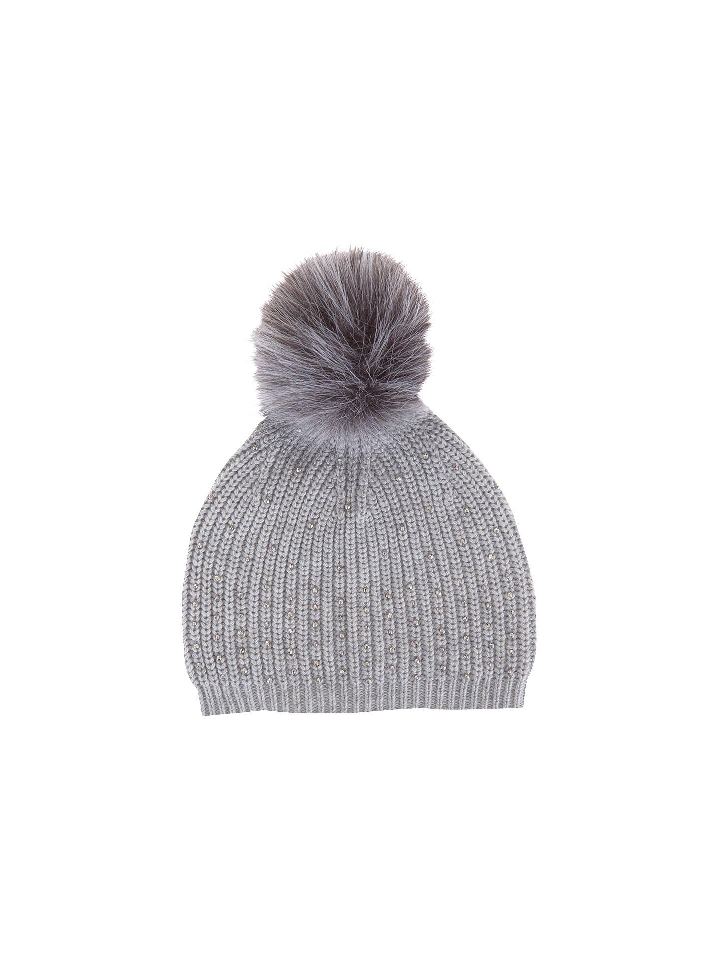 2d2138c9ac2 Buy Mint Velvet Studded Detail Pom Pom Hat