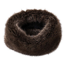 Buy French Connection Immy Faux Fur Neck Warmer, Camber Sands Online at johnlewis.com