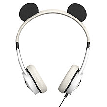 Buy ZAGG ifrogz Little Rockerz Children's Volume Limiting On-Ear Headphones, Panda Online at johnlewis.com