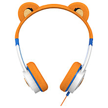 Buy ZAGG ifrogz Little Rockerz Children's Volume Limiting On-Ear Headphones, Tiger Online at johnlewis.com