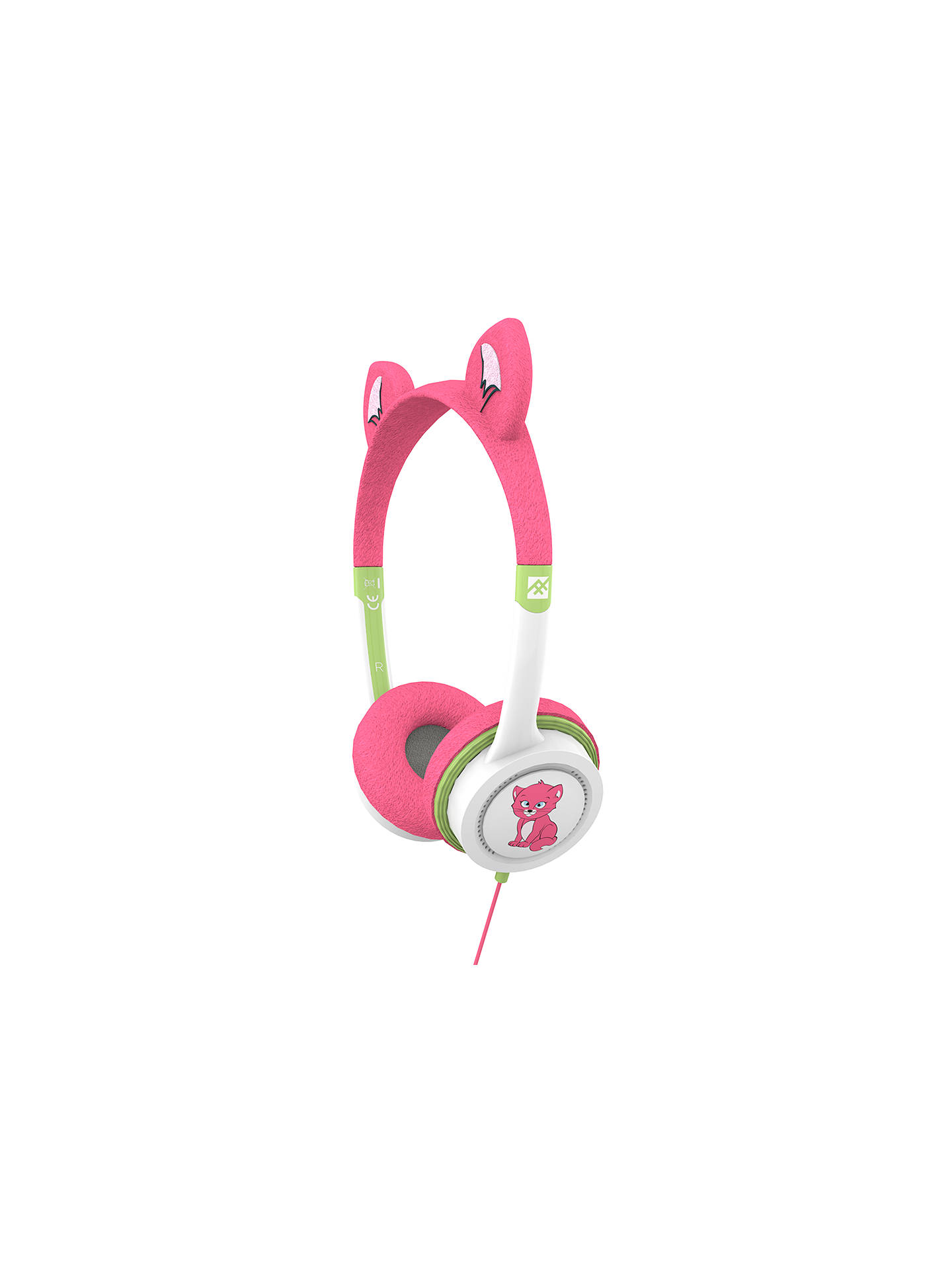Buy ZAGG ifrogz Little Rockerz Children's Volume Limiting On-Ear Headphones, Kitten Online at johnlewis.com
