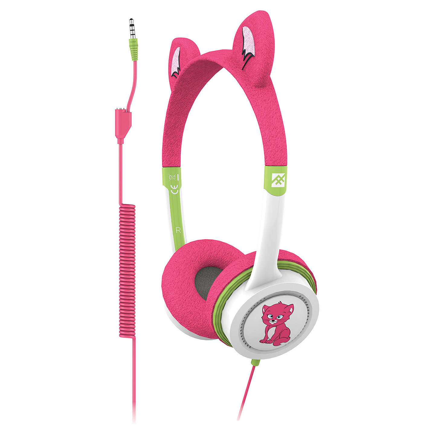 BuyZAGG ifrogz Little Rockerz Children's Volume Limiting On-Ear Headphones, Kitten Online at johnlewis.com