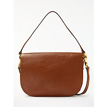 Buy John Lewis Rosa Leather Saddle Bag Online at johnlewis.com
