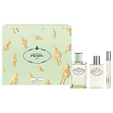 Buy Prada Les Infusions de Prada Iris 100ml Eau de Parfum Fragrance Gift Set Online at johnlewis.com