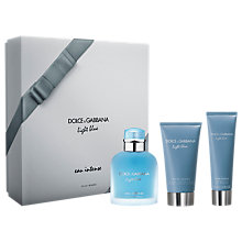 Buy Dolce & Gabbana Light Blue Eau Intense Pour Homme 100ml Eau de Parfum Fragrance Gift Set Online at johnlewis.com