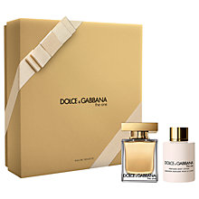 Buy Dolce & Gabbana The One 50ml Eau de Toilette Duo Fragrance Gift Set Online at johnlewis.com