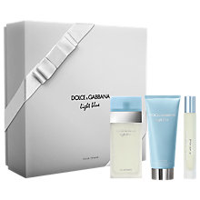 Buy Dolce & Gabbana Light Blue Pour Femme 50ml Eau de Toilette for Women Fragrance Gift Set Online at johnlewis.com