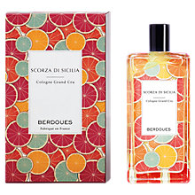 Buy BERDOUES Scorza Di Sicilia Eau de Parfum, 100ml Online at johnlewis.com