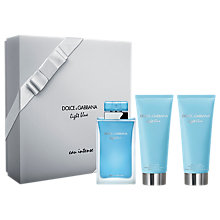 Buy Dolce & Gabbana Light Blue Eau Intense 100ml Eau de Parfum Fragrance Gift Set Online at johnlewis.com