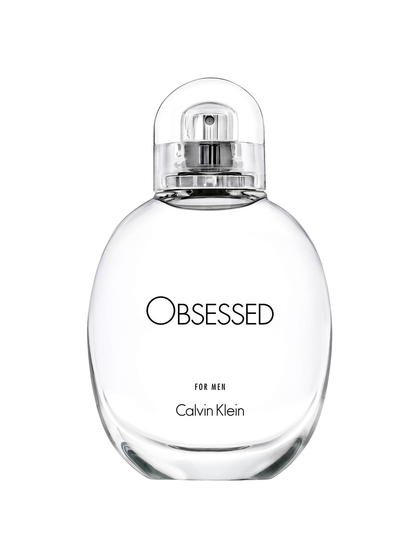 3983ca7698 Calvin Klein Obsessed For Men Eau de Toilette at John Lewis   Partners