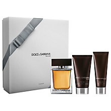 Buy Dolce & Gabbana The One For Men 100ml Eau de Toilette Fragrance Gift Set Online at johnlewis.com