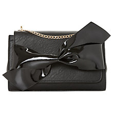 Buy Dune Elloie Bow Clutch Bag Online at johnlewis.com