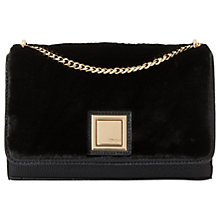 Buy Dune Elfur Clutch Bag, Black Online at johnlewis.com