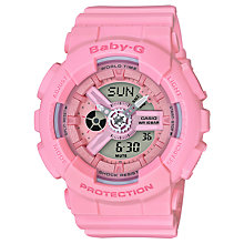 Buy Casio Women's Baby G BA-110 Quartz Resin Strap Watch Online at johnlewis.com
