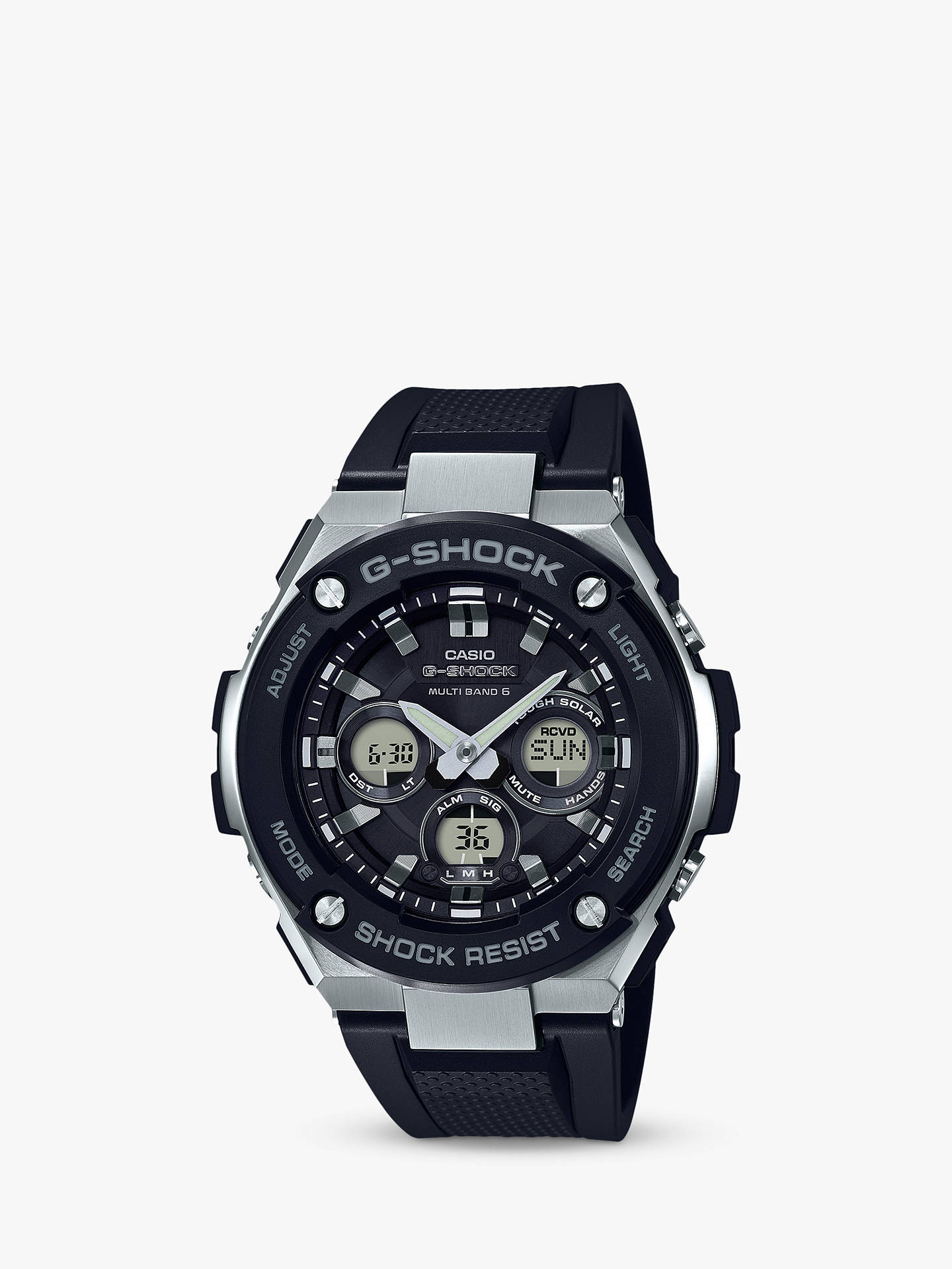 d73005bee2 Casio Men's G-Shock G-Steel Resin Strap Watch at John Lewis & Partners